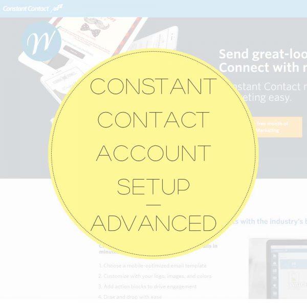 Constant-Contact-Account-Setup—Advanced