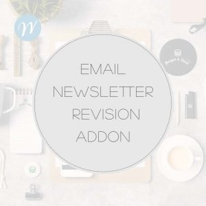 EMAIL NEWSLETTER REVISION ADDON