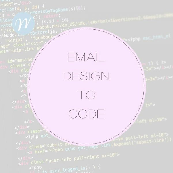 Email Design to Code