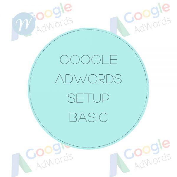 Google Adwords Setup Basic