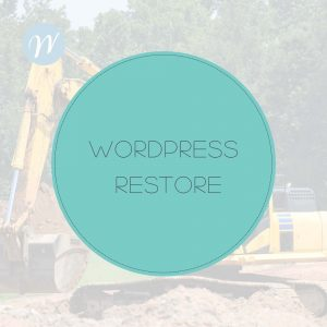 WORDPRESS RESTORE
