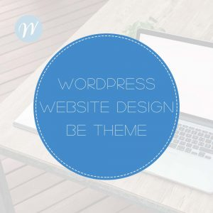 Wordpress Web Design BE theme