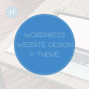 Wordpress Web Design X theme