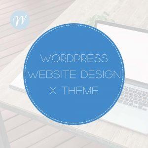 Wordpress Web Design X theme