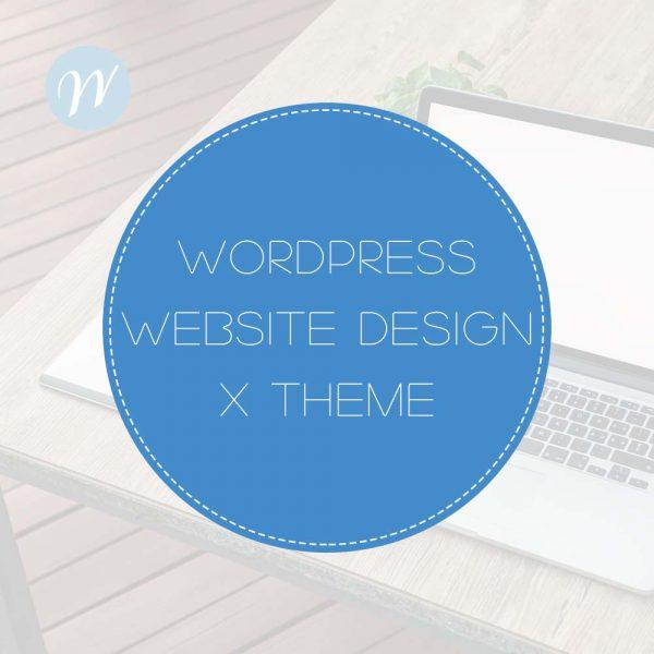 WordPress-Web-Design-X theme
