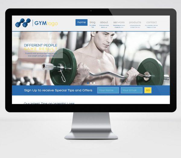 Template Image – Gym